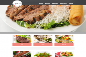 Cafe & Restaurant Web Sitesi