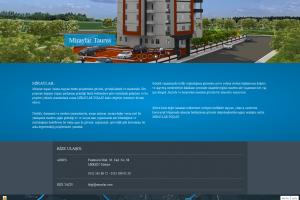 Sektörel İnşaat Web Sitesi