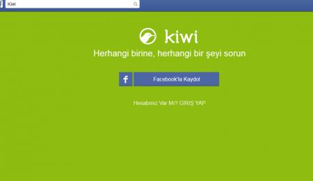 Facebook'ta Kiwi Uygulamasından Kurtulma