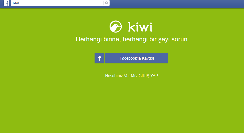 Facebook Kiwi