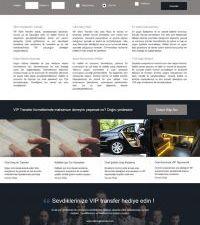Silivri Vip Transfer Web Sitesi Yazılımı