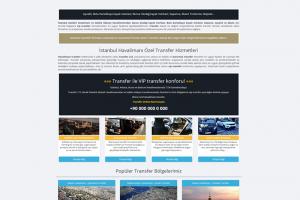 Havalimanı Araç Transfer Yazılımı v3 & Web Sitesi