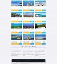 Gnd Turizm Transfer Web Sitesi & Logo
