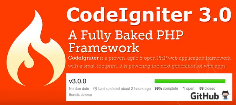 Codeigniter 3.0