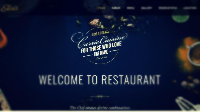 Kafe Restauran Web Sitesi