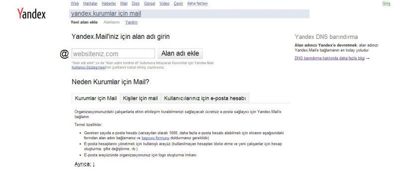 Kurum Yandex